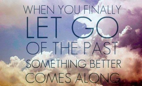 I will let go because I DO DESERVE MORE!