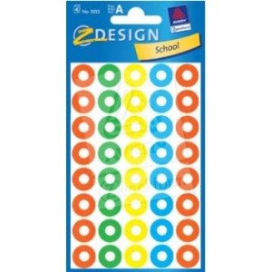 self-adhesive-labels-ring-reinforcement-coloured-3055