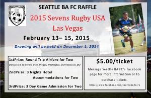 Seattle BA FC Raffle Flyer